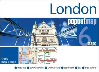 London PopOut Map | Dodax.at