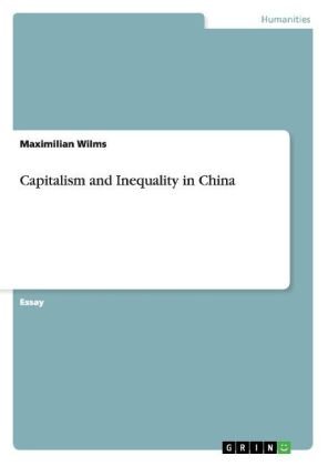Capitalism and Inequality in China | Dodax.ch