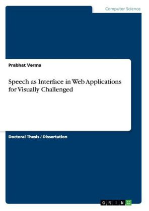 Speech as Interface in Web Applications for Visually Challenged | Dodax.ch