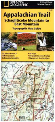 National Geographic Adventure Travel Map Schaghticoke Mountain to East Mountain | Dodax.ch