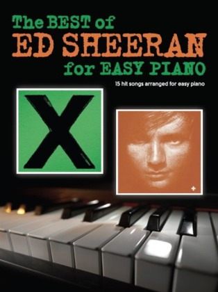 The Best Of Ed Sheeran For Easy Piano | Dodax.com