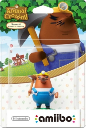 Nintendo - amiibo Animal Crossing Collection Resetti Collectible Figure (1081066) | Dodax.de