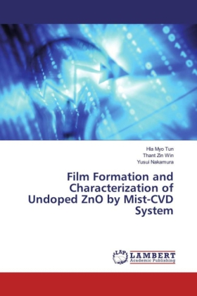 Film Formation and Characterization of Undoped ZnO by Mist-CVD System | Dodax.pl