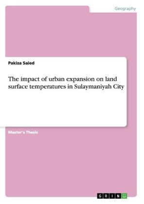 The impact of urban expansion on land surface temperatures in Sulaymaniyah City | Dodax.nl