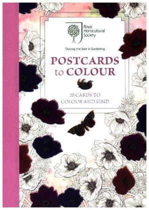 RHS Postcards to Colour, Postcards | Dodax.co.uk