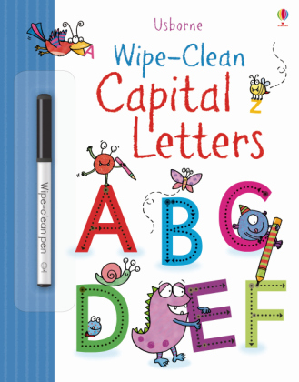 Wipe-clean Capital Letters | Dodax.ch