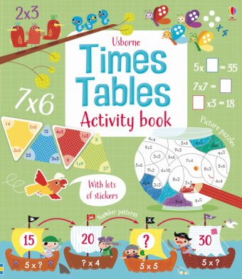 Times Tables Activity Book | Dodax.ch