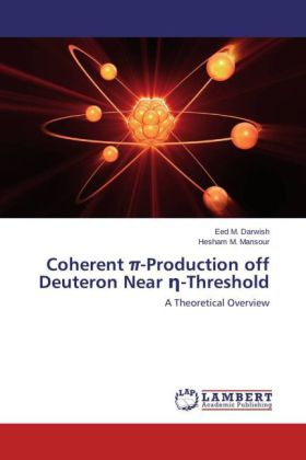Coherent pi-Production off Deuteron Near _-Threshold | Dodax.ch