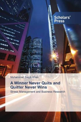 A Winner Never Quits and Quitter Never Wins | Dodax.ch