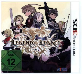 The Legend of Legacy German Packaging - 3DS | Dodax.co.uk