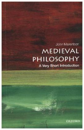 Medieval Philosophy: A Very Short Introduction | Dodax.ch