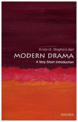 Modern Drama: A Very Short Introduction | Dodax.at
