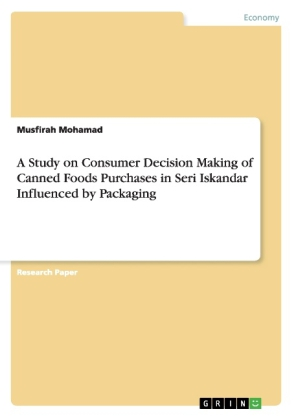 A Study on Consumer Decision Making of Canned Foods Purchases in Seri Iskandar Influenced by Packaging | Dodax.nl
