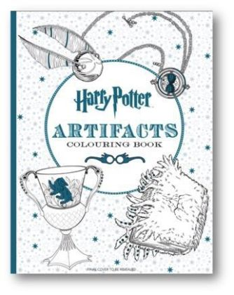 Harry Potter Artifacts Colouring Book | Dodax.co.uk