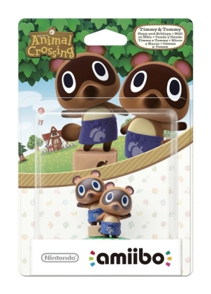 Nintendo - amiibo Animal Crossing Collection Nepp und Schlepp Sammelfigur (1080866) | Dodax.at
