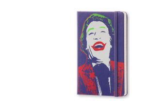 Moleskine 12 Monate Batman Wochen Notizkalender P/A6, Hard Cover, Violett 2017 | Dodax.at