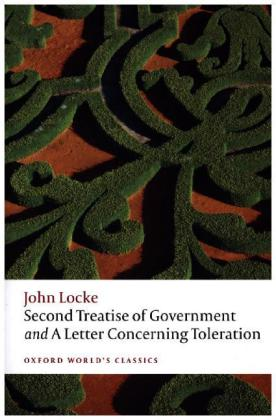 Second Treatise of Government and A Letter Concerning Toleration   Dodax.ch