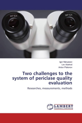 Two challenges to the system of periclase quality evaluation | Dodax.com