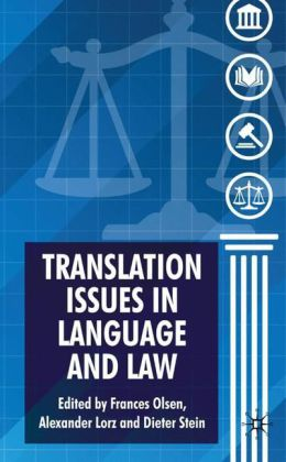 Translation Issues in Language and Law   Dodax.ch
