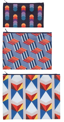 Zip Pockets GEOMETRIC | Dodax.co.jp