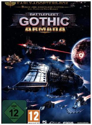 Battlefleet Gothic, Armada, 1 DVD-ROM (Early Adopters Box) | Dodax.at