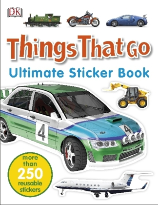Things That Go Ultimate Sticker Book | Dodax.ch