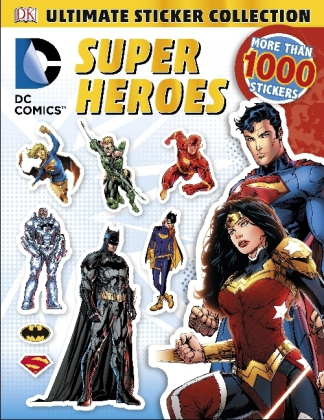 DC Comics Super Heroes Ultimate Sticker Collection | Dodax.at