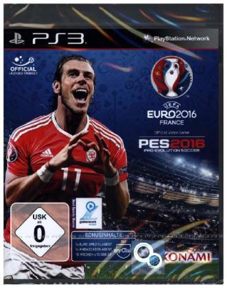 Uefa Euro France PES 2016, PS3-Blu-ray Disc | Dodax.fr