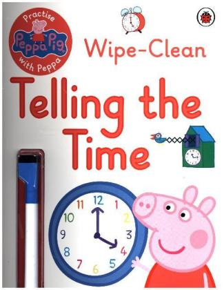 Peppa Pig: Practise with Peppa: Wipe-Clean Telling the Time   Dodax.at