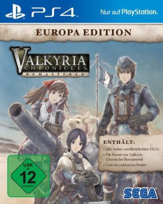 Valkyria Chronicles Remastered (Europa Edition) - PS4 | Dodax.at