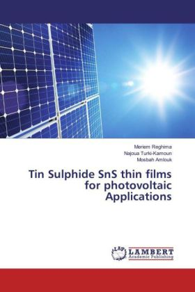 Tin Sulphide SnS thin films for photovoltaic Applications | Dodax.ch