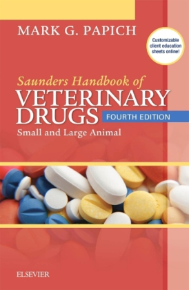 Saunders Handbook of Veterinary Drugs | Dodax.ch