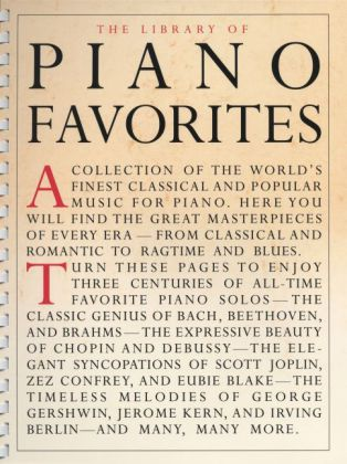 Library Of Piano Favorites | Dodax.ch
