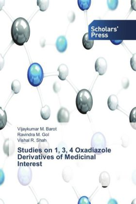 Studies on 1, 3, 4 Oxadiazole Derivatives of Medicinal Interest | Dodax.ch