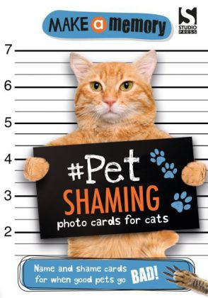 Make a Memory Pet Shaming, photo cards for cats | Dodax.ch