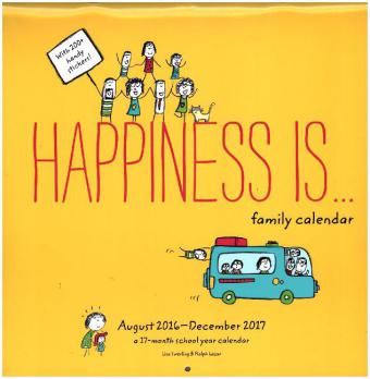Happiness Is . . . , Wall Calendar 2017 | Dodax.at