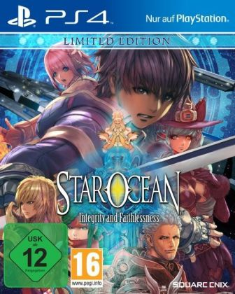 Star Ocean: Integrity and Faithlessness (Limited Edition) - PS4 | Dodax.co.uk