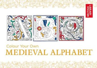 Colour Your Own Medieval Alphabet | Dodax.at