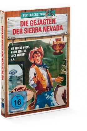 Die Gejagten der Sierra Nevada, 1 DVD | Dodax.at