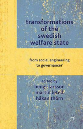 Transformations of the Swedish Welfare State   Dodax.ch