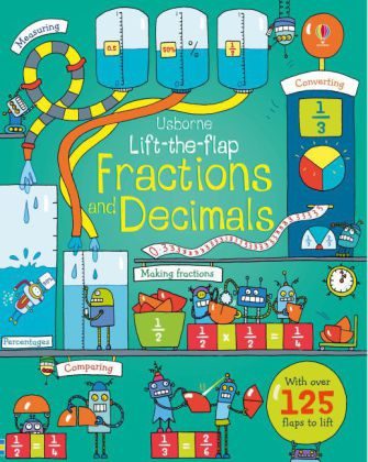 Lift-the-flap Fractions and Decimals | Dodax.at