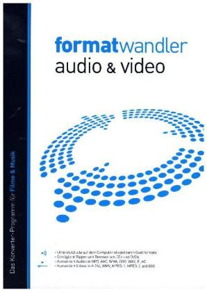 Formatwandler Audio & Video, 1 DVD-ROM | Dodax.ch