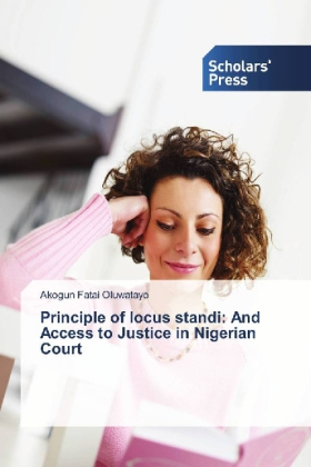 Principle of locus standi: And Access to Justice in Nigerian Court   Dodax.co.uk