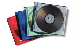 Fellowes 98317 Jewel case 1discs Multicolour | Dodax.co.jp