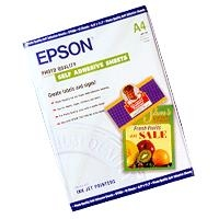 Epson Photo Quality Ink Jet Paper self-adhesive, DIN A4, 167g/m², 10 Sheets photo paper | Dodax.co.uk