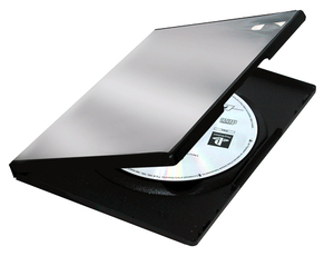 Fellowes 83357 DVD case 1discs Black | Dodax.co.uk