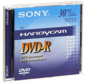 Sony DVD RECORDABLE 1.4GB 8CM 30MIN | Dodax.at