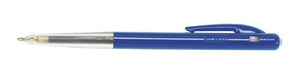 BIC M10 clic Clip-on retractable ballpoint pen Medium Blue 50pc(s) | Dodax.ca