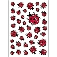 HERMA DECOR stickers ladybirds 3 sheets | Dodax.at