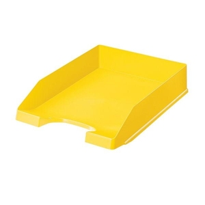 Leitz Standard Letter Tray 5227 A4 Yellow | Dodax.at